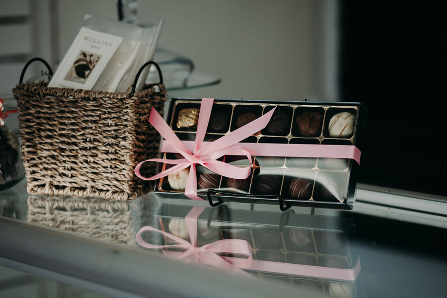 Petal & Kettle chocolates, sold in Parksville