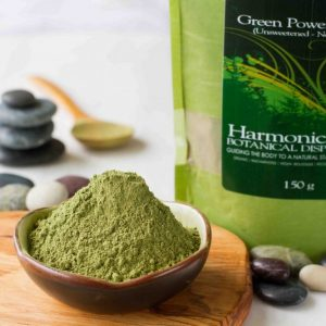 Harmonic Arts Green Power Blend, sold by Petal and Kettle in Parksville