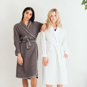 Tofino Towel Bath Robes, available to buy in store or online Parksville at Petal & Kettle