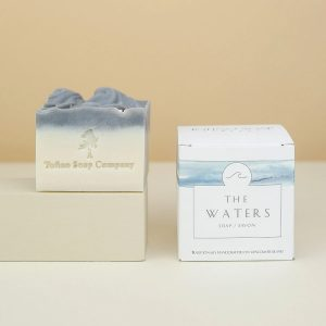 Tofino Soap Co. Bar Soap, sold at Parksville gift shop Petal and Kettle