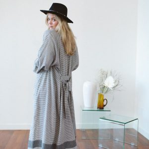 Tofino Towel Beach or Dressup long Kimono, sold online and instore at Petal and Kettle, Parksville gift shop