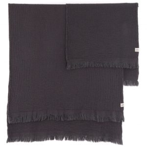 grey bath towel set by tofino towel, sold in Parksville at Petal and Kettle