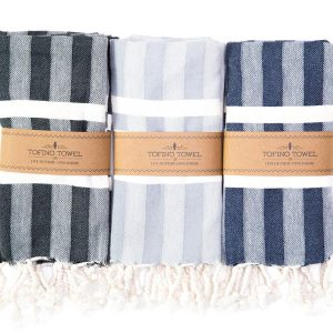 Tofino Towel dish towels, sold online and instore at Petal and Kettle, Parksville gift shop