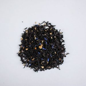New Moon Cream of Earl Grey Loose Leaf Tea, available in Parksville at Petal and Kettle