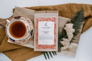 New Moon Rooibos Chai loose leaf tea available in Parksville