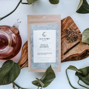 New Moon loose leaf tea vanilla rooibos