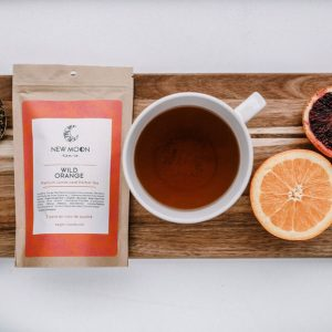 wild orange loose leaf tea available in Parksville at Petal and Ketttle