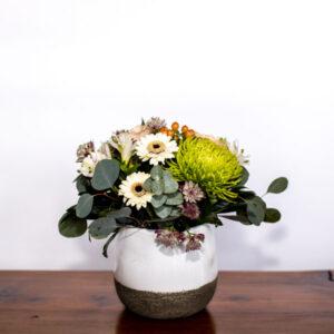 flower vase arrangements from Parksville Qualicum Beach flower delivery company petal and kettle florist