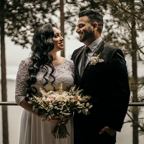 vancouver island floral elopement packages